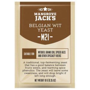 Дрожжи Mangrove Jack's M21 Belgian Wit