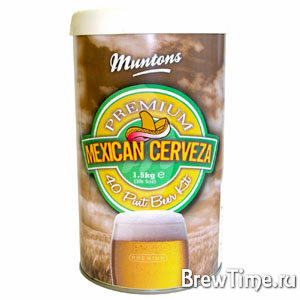 Набор Muntons Mexican Cerveza 1,5 кг.